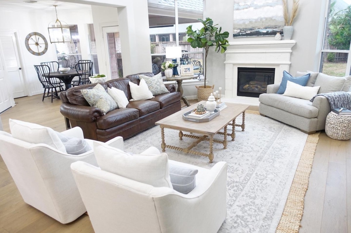 Living Room Makeover Houston Lifestyle Haute And Humid