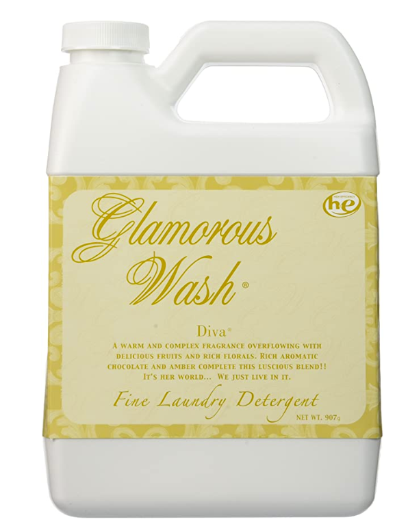 laundry detergent   Amazon Spring Try On by popular Houston fashion blog, Cute and Little: image of some Amazon Glamorous Wash detergent.