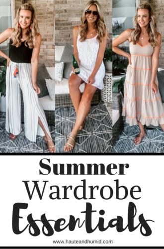Summer Wardrobe Essentials From Walmart