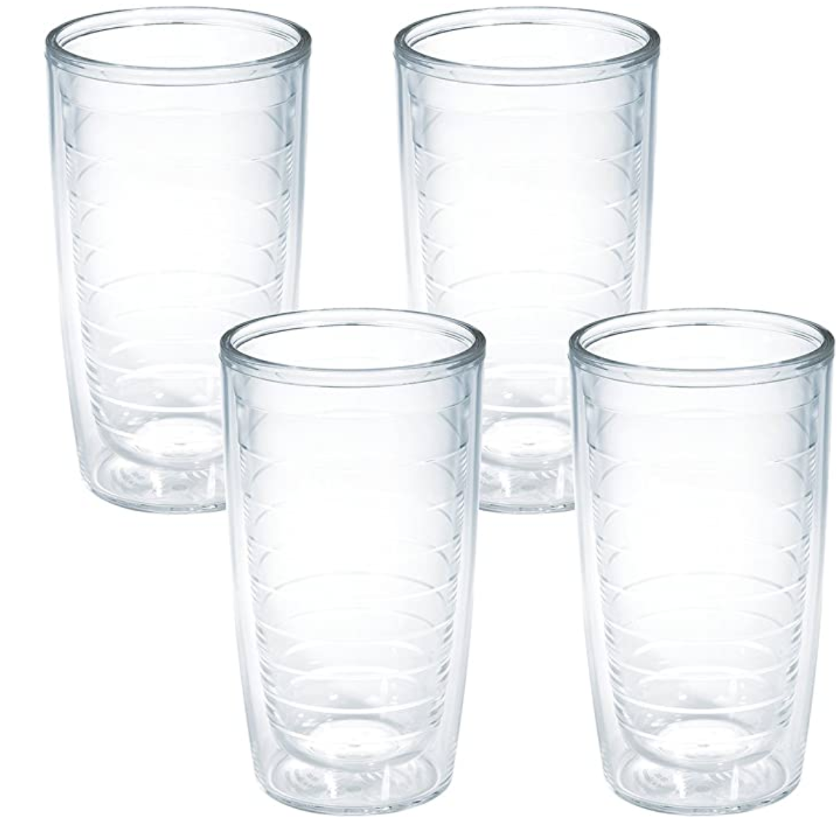 tervis tumblers | Best Amazon Products by popular Houston life and style blog: image of Amazon clear tumbler glasses.