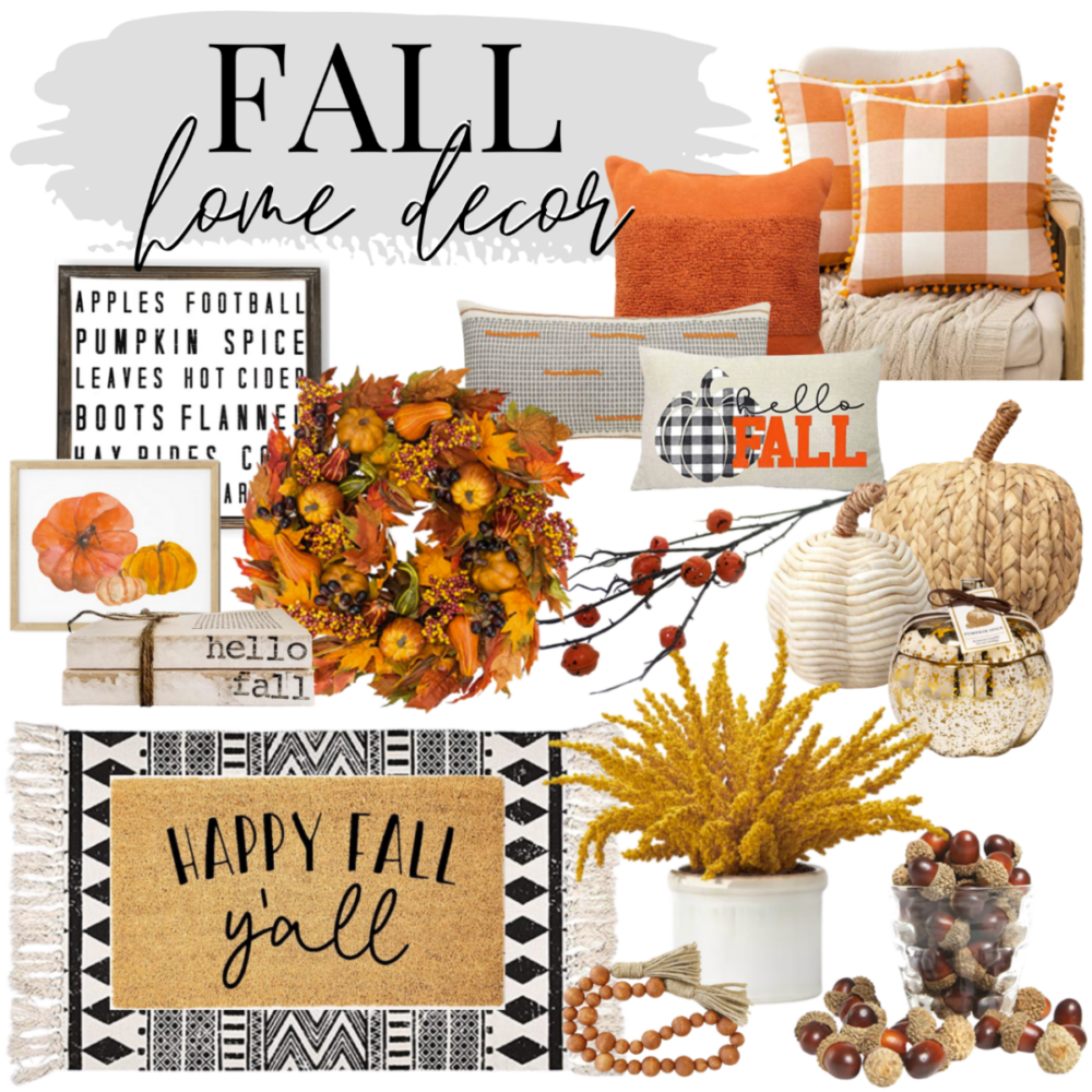 bargain fall decor