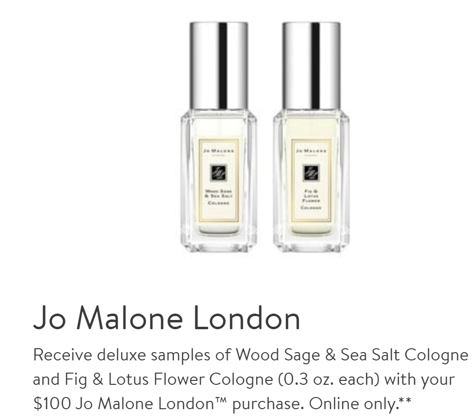 nordstrom perfume |fall sweater |beauty trend event | Nordstrom Beauty by popular Houston beauty blog, Haute and Humid: image of Jo Malone London perfume.