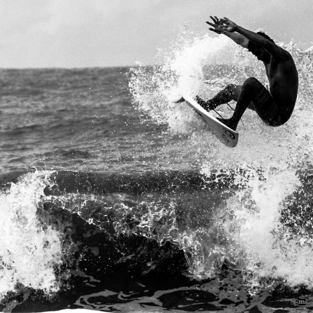 Reach - Surf Jump Photographed by Herman Hanssen