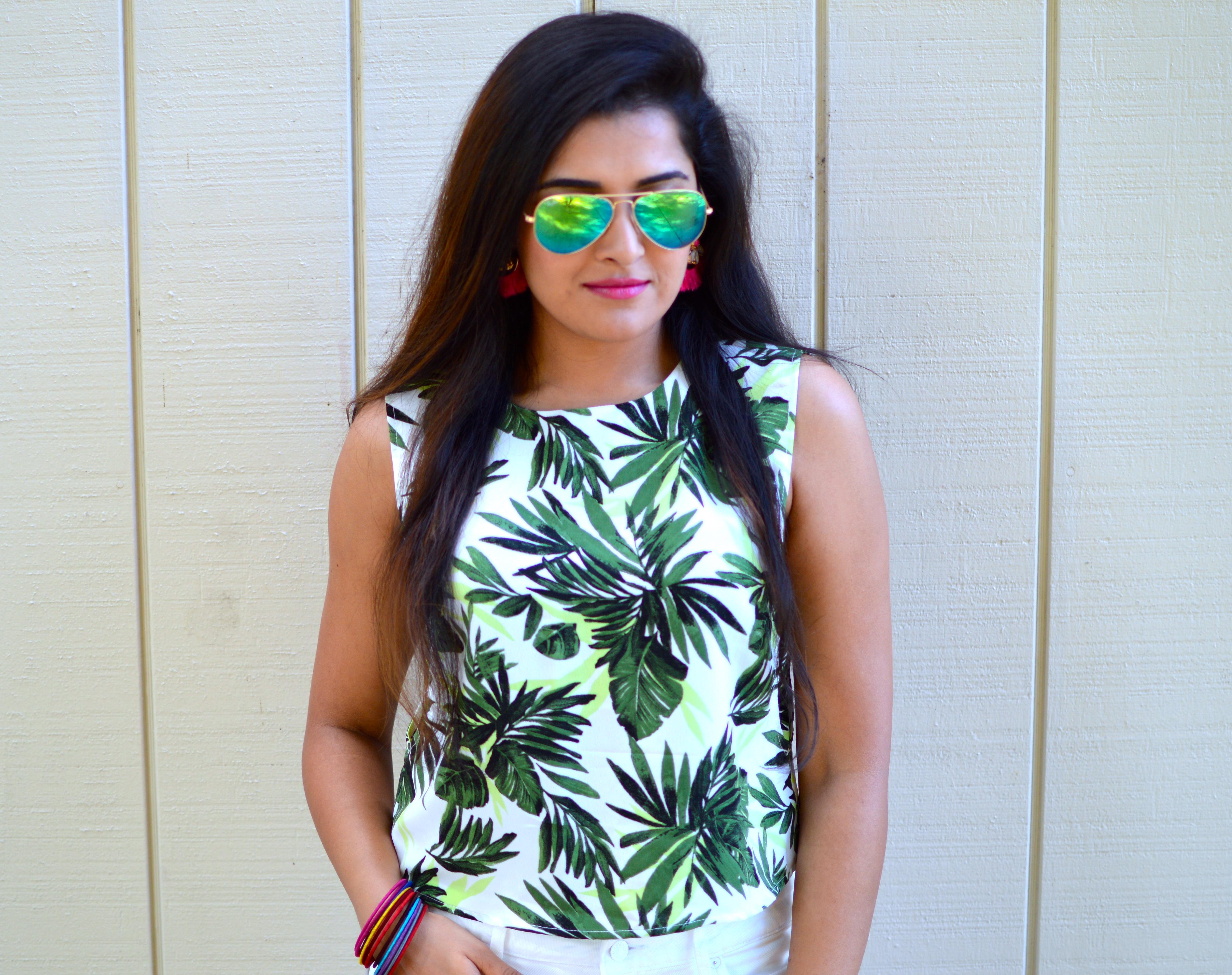 Palm Printed SUNday