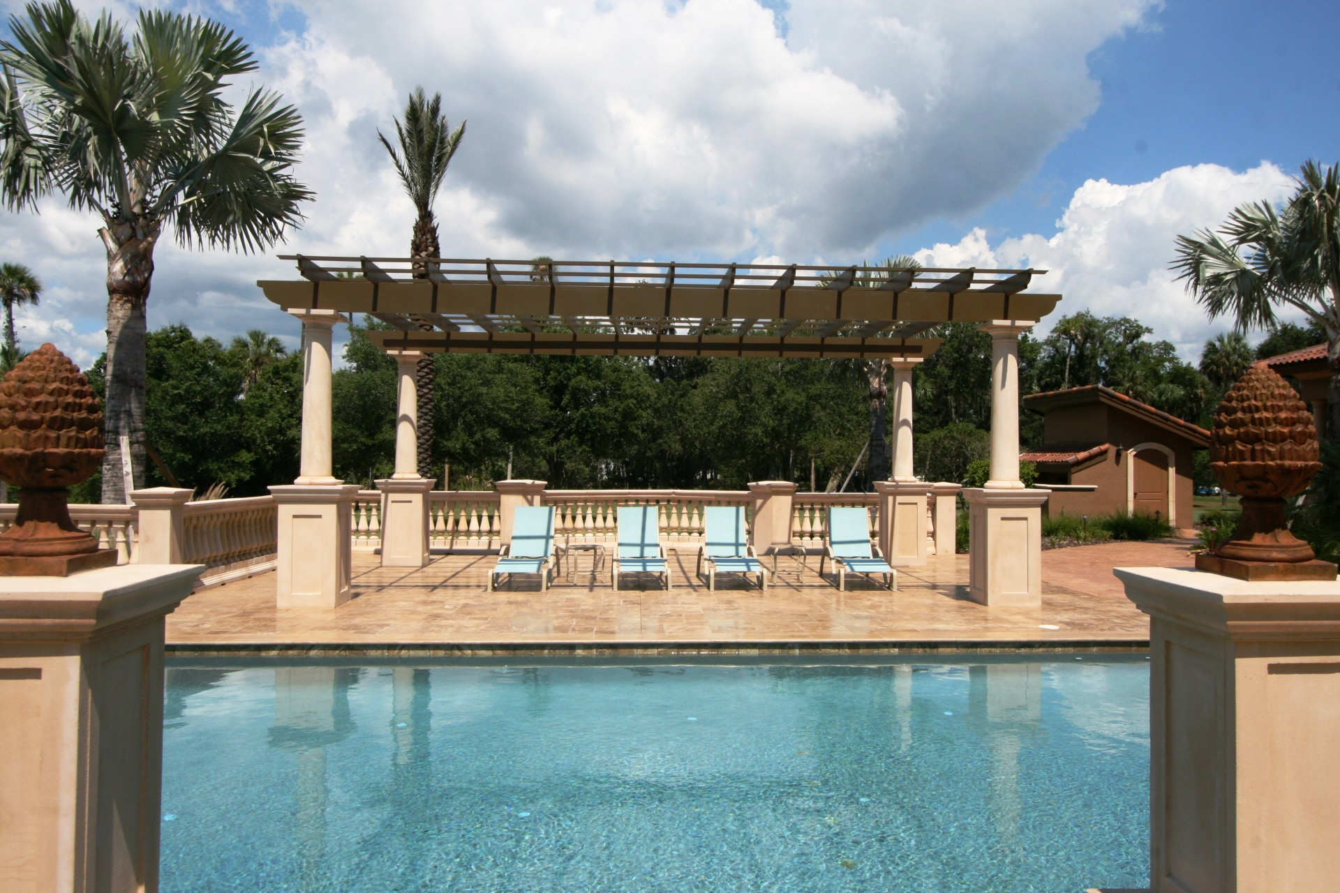 Damron Trellis and Pool