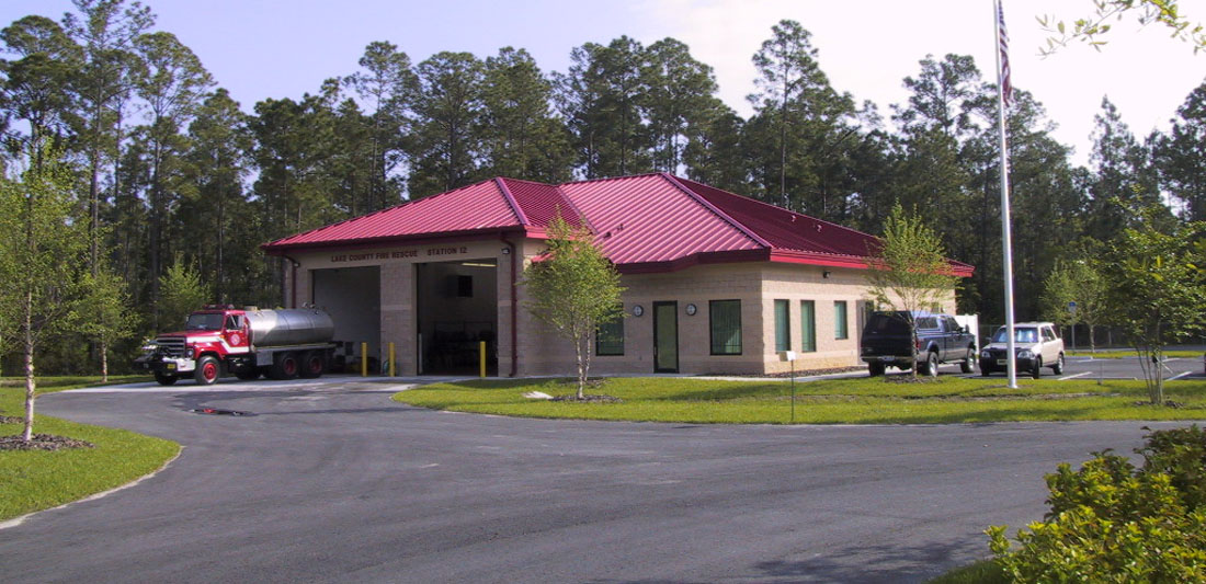 L.C. FIRE STATION IN ASTOR