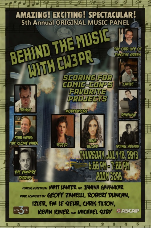 """CLONE WARS ANAKIN SKYWALKER TO MODERATE 5TH ANNUAL """"BEHIND THE MUSIC WITH CW3RP"""""""