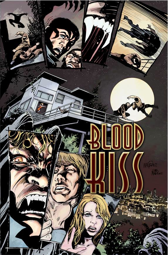 SDCC 2013-  BLOOD KISS SIGNING WITH AMBER BENSON- MICHAEL REAVES AND SURPRISE GUESTS