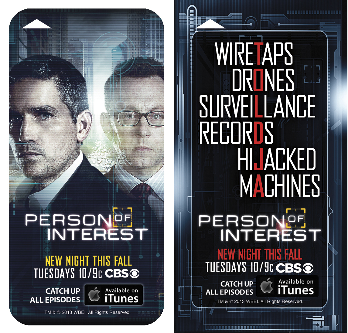 PERSON OF INTEREST is Watching You at Comic-Con