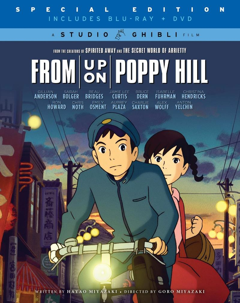 All Star Cast Join Lengendary Film Storyteller Hayao Miyazaki in From Up on Poppy Hill