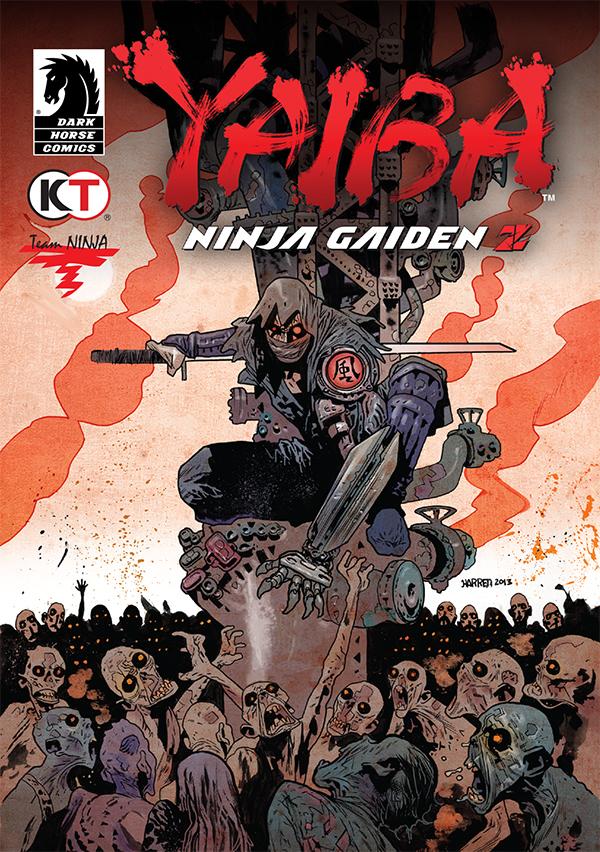 Team Ninja and Dark Horse Comics Kick Off