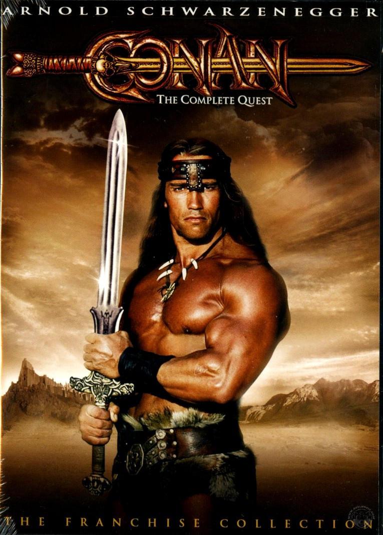 He's Finally Back. As Conan The Barbarian!