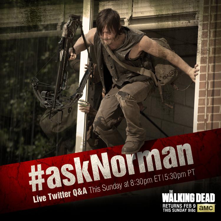 Ask-Norman-Reedus-Twitter-The-Walking-Dead