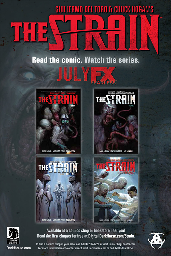 Guillermo Del Toro's The Strain Jumps from Comic Page to TV