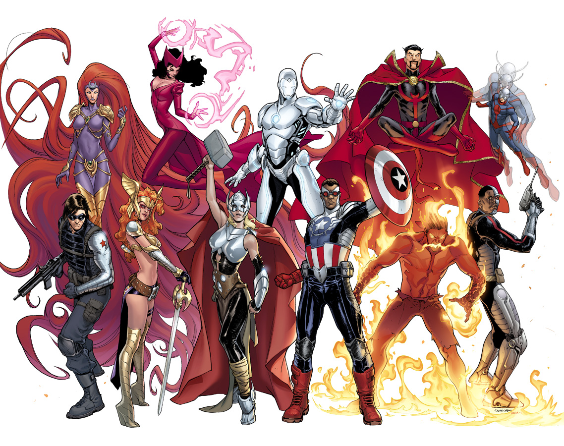 Avengers NOW is Avengers WOW!