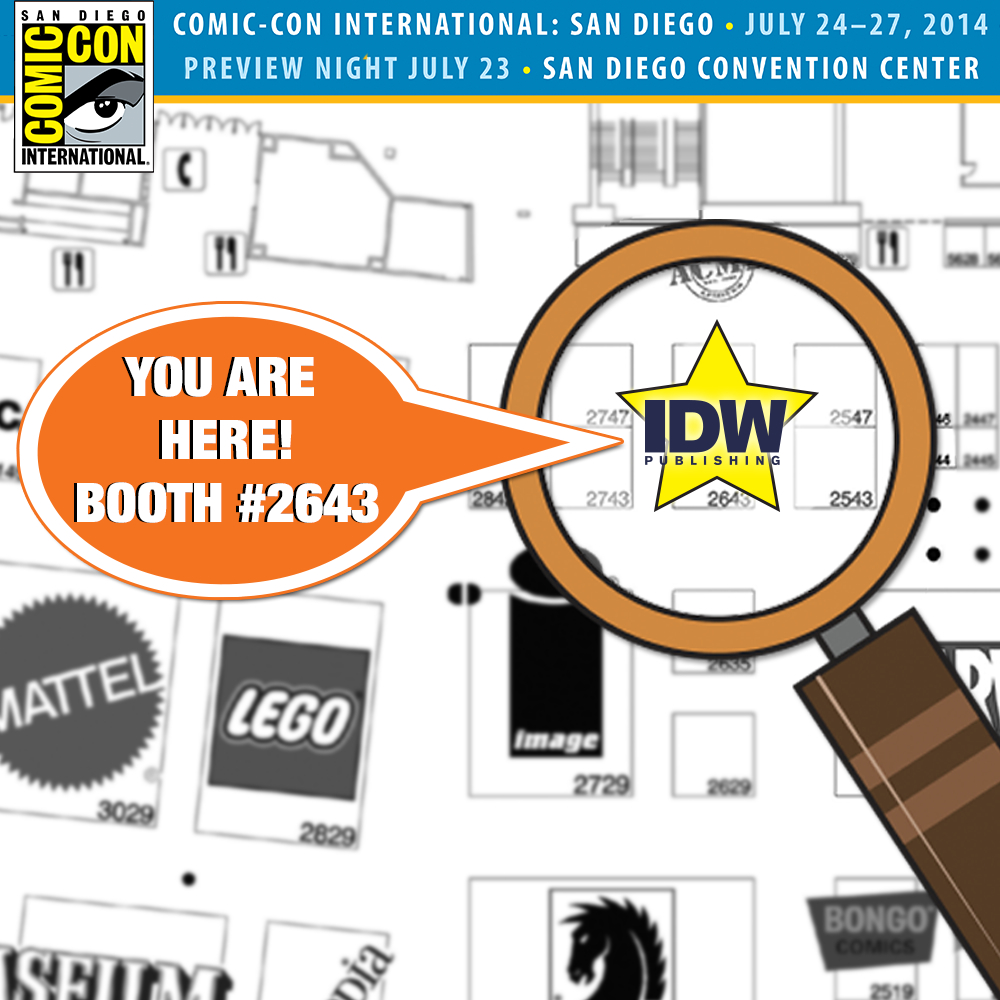IDW Publishing Packs a Plethora of Panels, Exclusives, Signings, Appearances to SDCC 2014