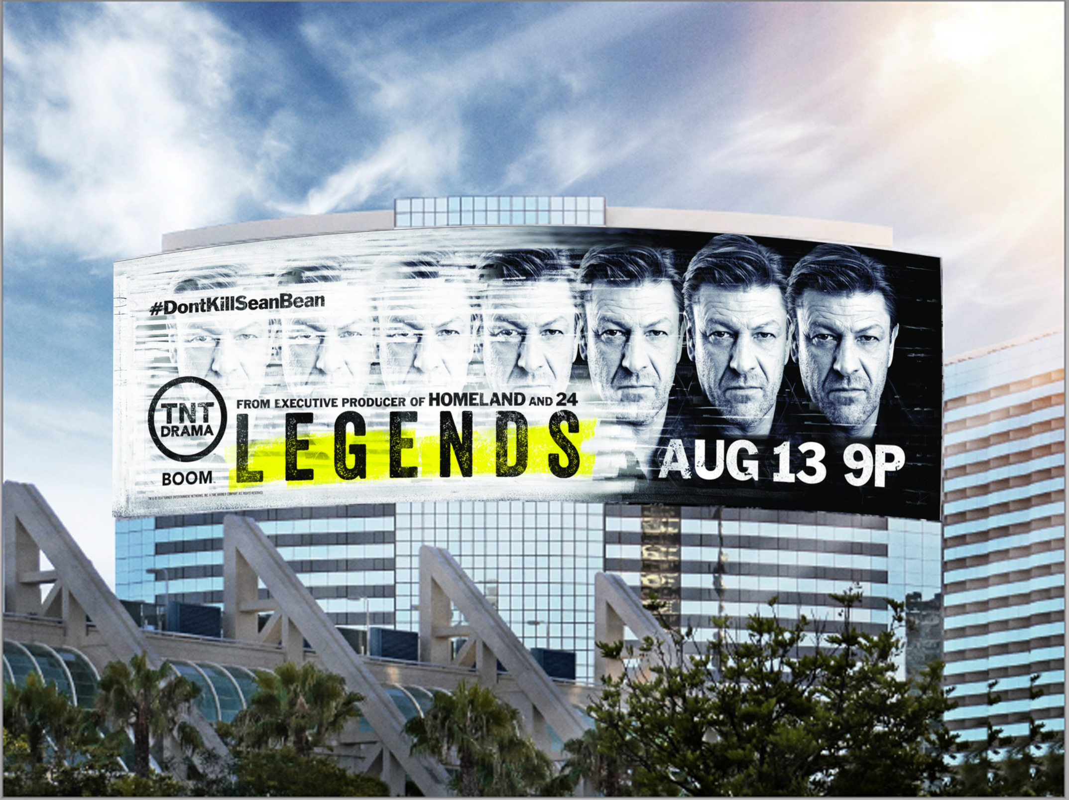 TNT's Legends Takes Over the Skies at SDCC 2014