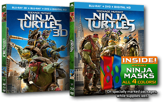 Saturday Morning Cereal – TMNT Encore: The Blu-Ray Giveaway Edition