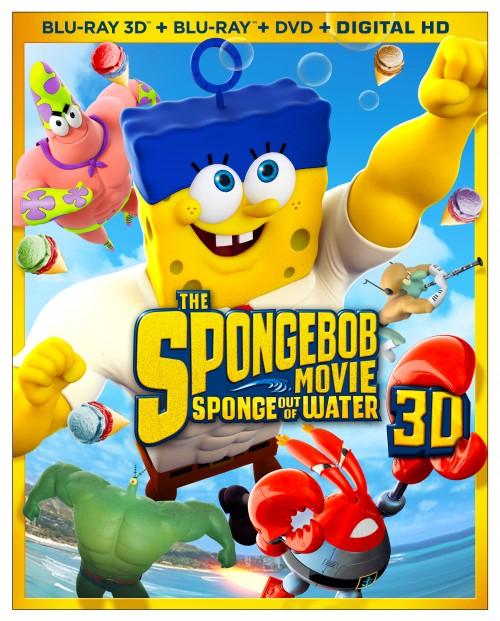 Surprise Hit Spongebob Movie coming Ashore on Blu-ray