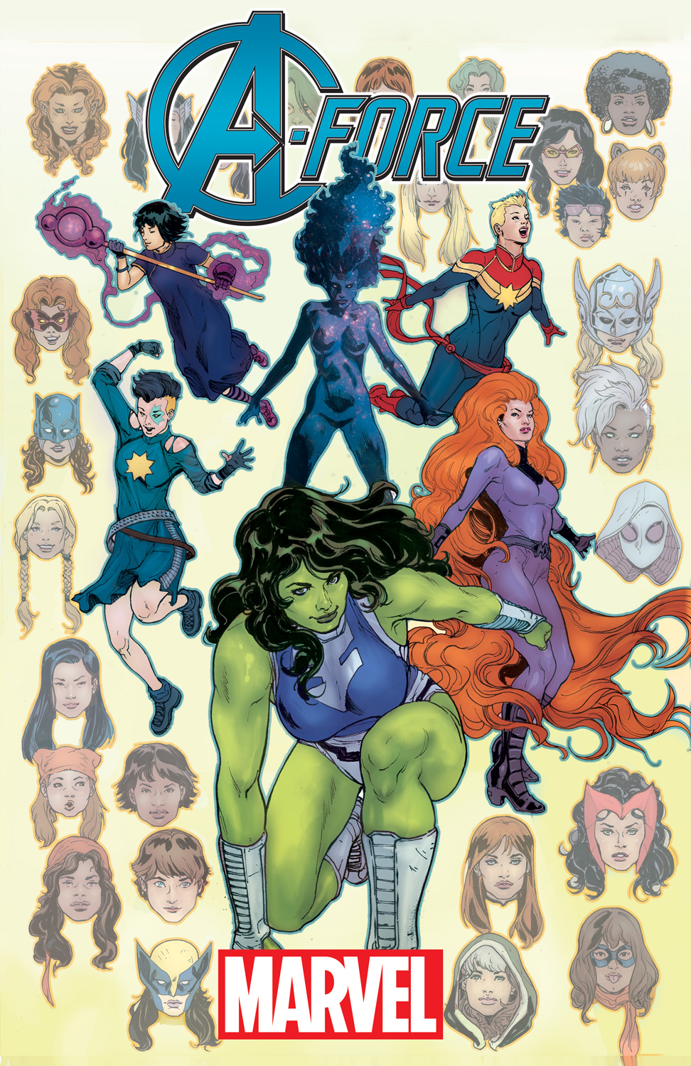 A-FORCE 1 Assembles the Women of Marvel this Fall