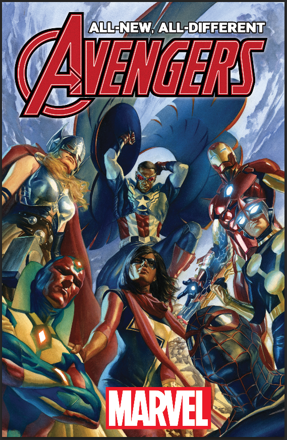 The ALL-NEW ALL-DIFFERENT MARVEL'S AVENGERS Assemble This Fall!