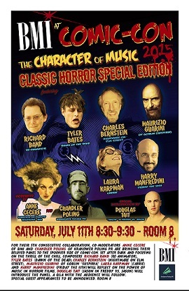 The Character of Music: Classic Horror Special Ed Panel at Comic-Con