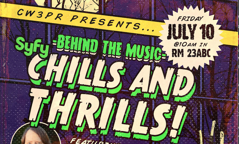 DANIEL GILLIES TAHMOH PENIKETT AND DJ QUALLS TO MODERATE CW3PR BEHIND THE MUSIC PANELS SDCC 2015