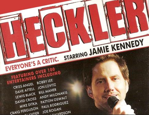 Heckler Jamie Kennedy