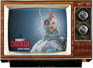 Robot Chicken-Saturday morning cereal-logo-console