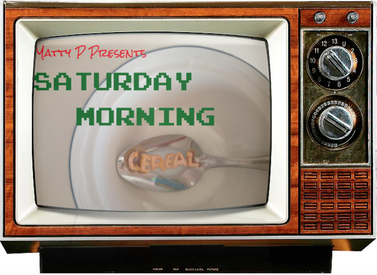 SaturdayMorningCereal TV SET Console LOGO