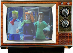 Scooby Doo-Robot chicken-saturday morning cereal-console