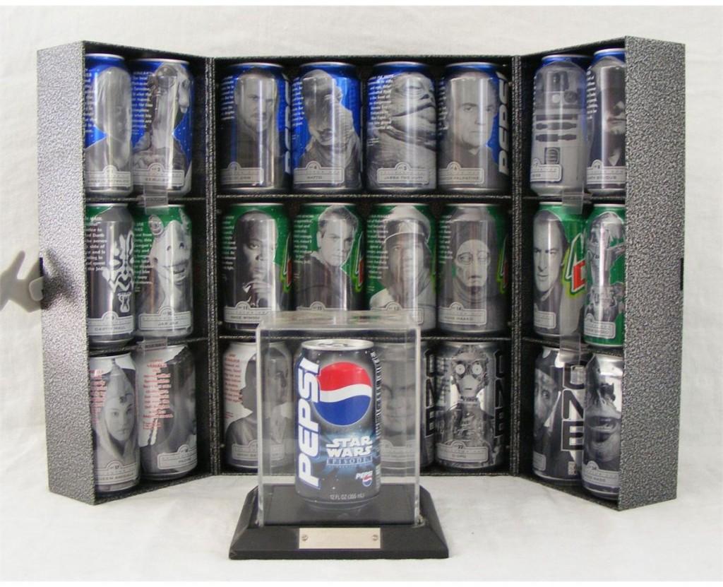 Star Wars Pepsi Phantom Cans