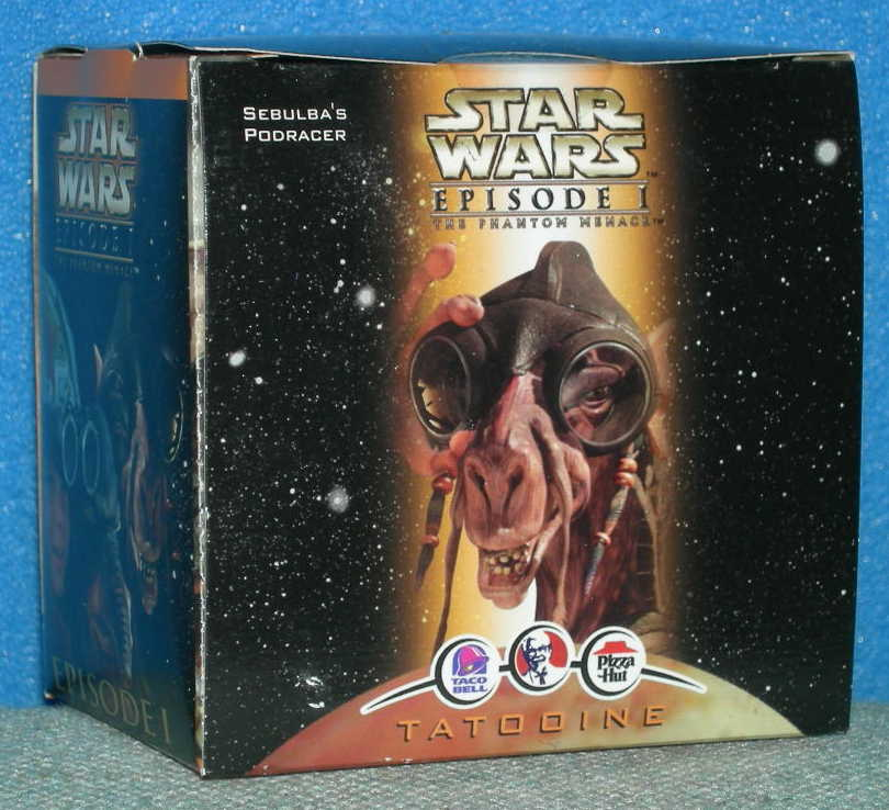 Star Wars Pizza Hut Toy