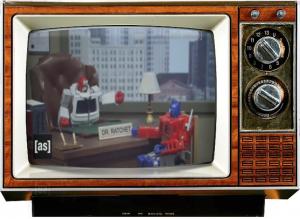 Transformers-Prime-RobotChicken-Saturday-morning-Cereal Console