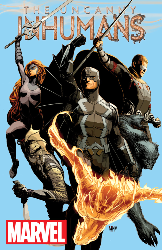 The Silence is Broken in UNCANNY INHUMANS Number 1