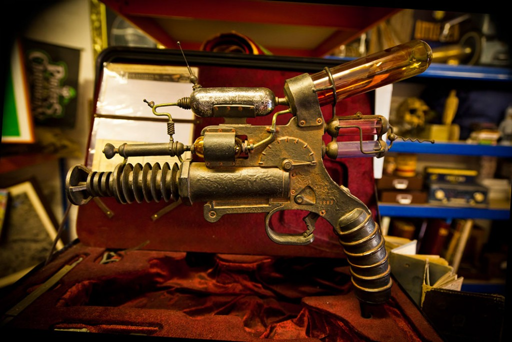 Ray Gun in Vintage Tomorrows. Courtesy of Magical and Practical.