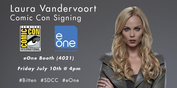 eOne Entertainment Brings BITEN to DVD and star Laura Vandervoort to SDCC