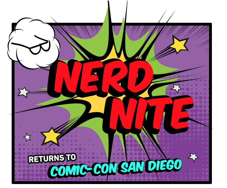 NERD NITE! It doesn't get more NERDY then National Geographic and SDCC