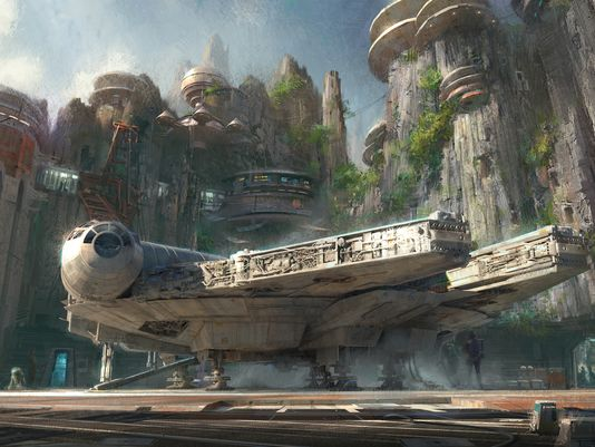 Star Wars Theme Lands Are Coming