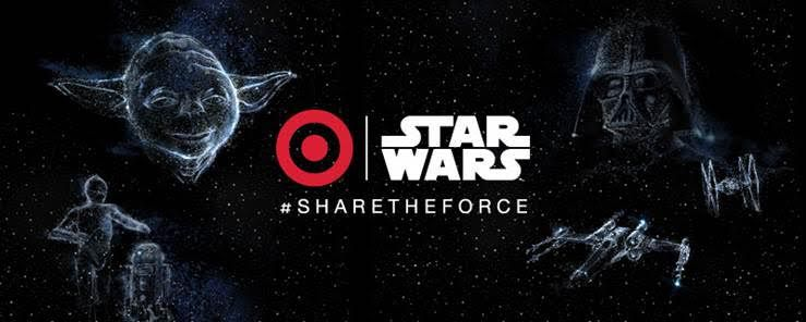Share the Force at Target