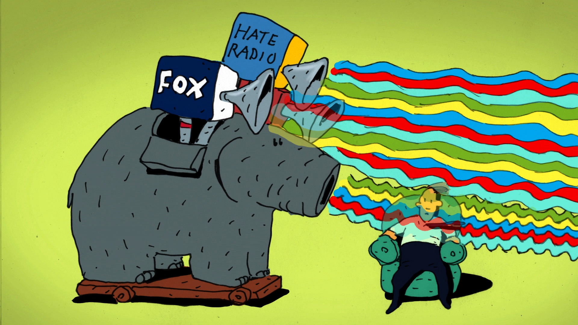 Like Moths to an Angry Flame-The Brainwashing of My Dad Tells the Story of a Fox News Fanatic