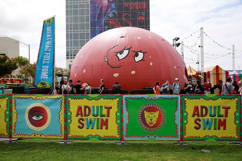 Ever Been in a Meatwad? Adult Swim's Epic FAN Experience Returns To San Diego Comic-Con!