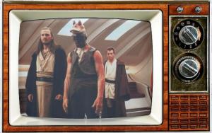SMC Glen McIntosh ILM Ahmad Best as Jar Jar w: Qui-Gon Obi-Wan