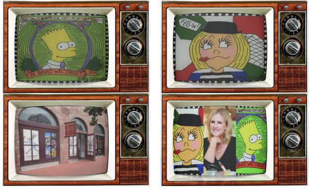 SMC TV SDCC Alternate Show 2016 Nancy Cartright Quad Chuck Jones Bart Simpsons