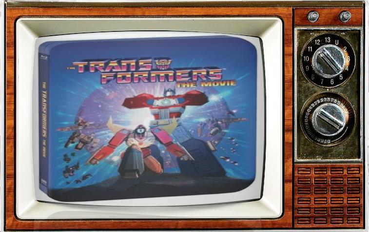 SMC TV SDCC Alternate Show 2016 Transformers The Movie Steel Book Blu-ray