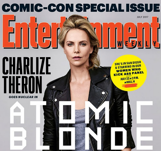 "Atomic Blonde Star Charlize Theron to Debut EW's ""Women Who Kick Ass"" Panel at SDCC 2017"