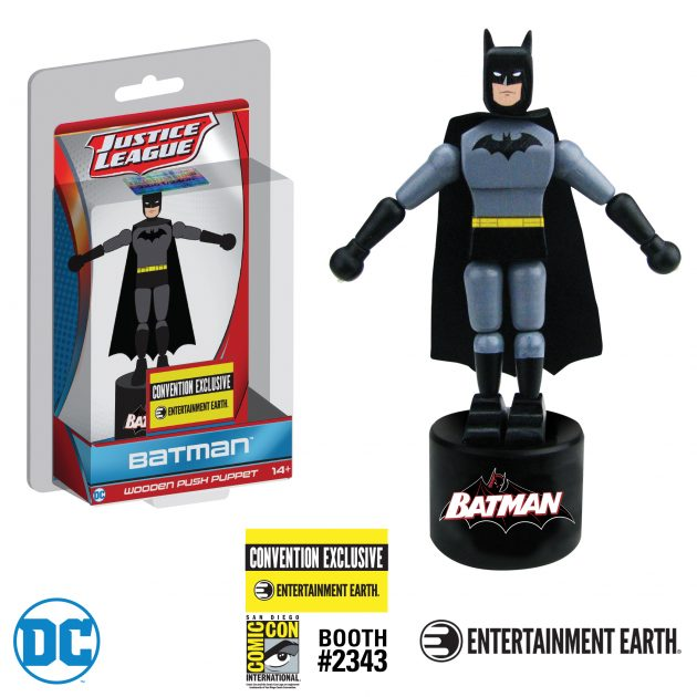 Classic BATMAN Wooden Push Puppet Makes Its Debut at San Diego Comic-Con!