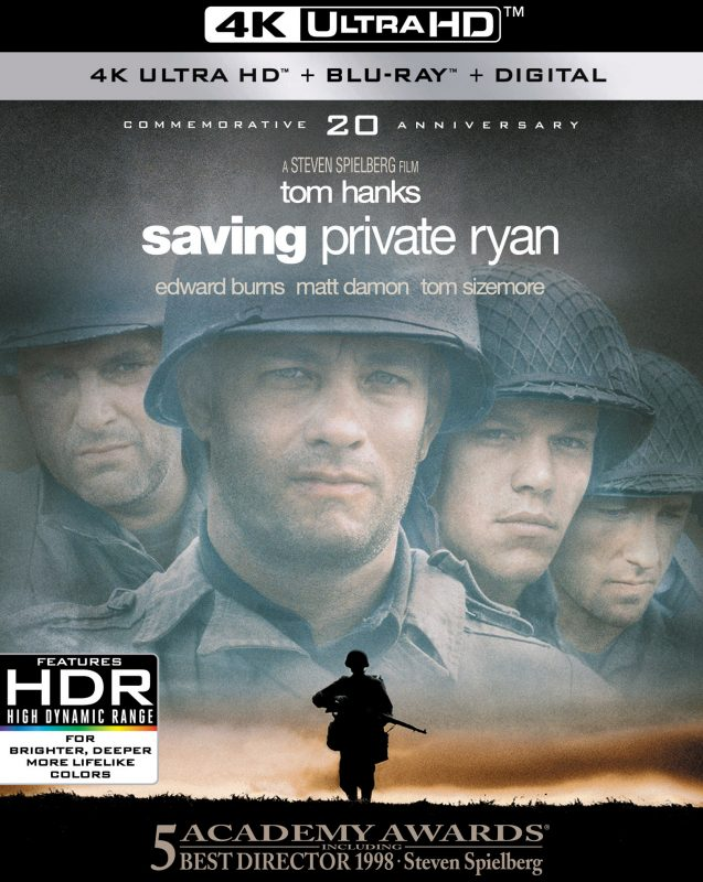 An Epic Never Gets Old! Saving Private Ryan Celebrates 20th Anniversary with 4K Ultra HD!