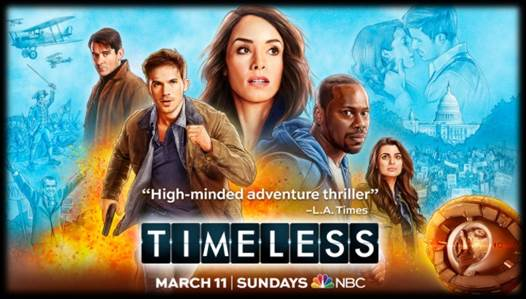 NBC'S FAN-FAVORITE DRAMA TIMELESS RETURNS TO WONDERCON!