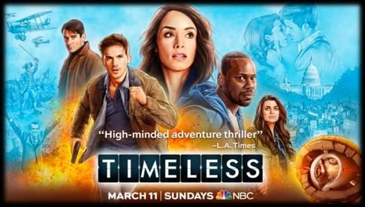 NBC'S FAN-FAVORITE DRAMA TIMELESS RETURNS TO WONDERCON!